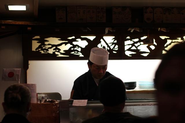 sakura sushi chef