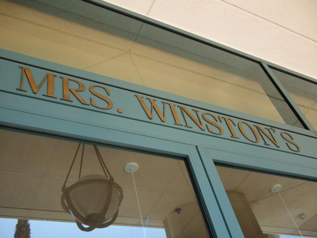 mrs. winston's