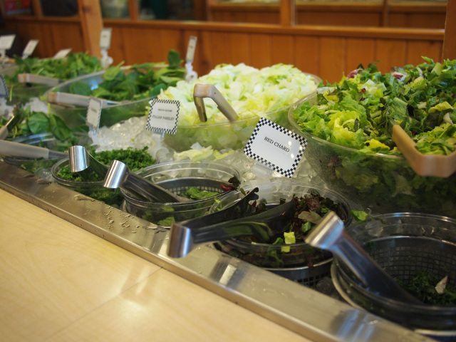 salad bar greens