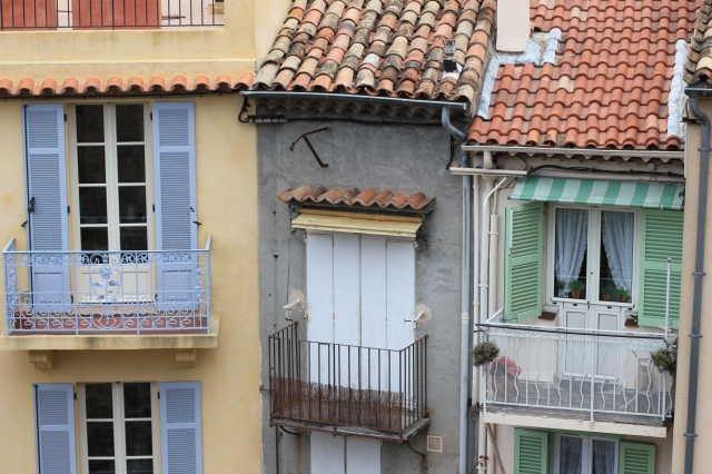 pastel french doors
