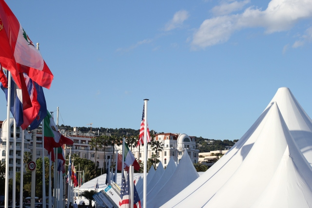 cannes international village tents