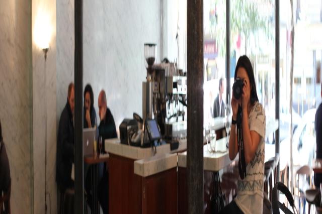 le dauphin restaurant paris mirror reflections