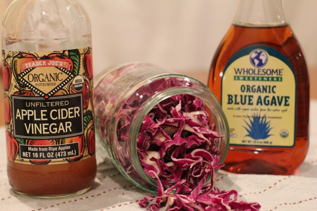 red cabbage pickling ingredients