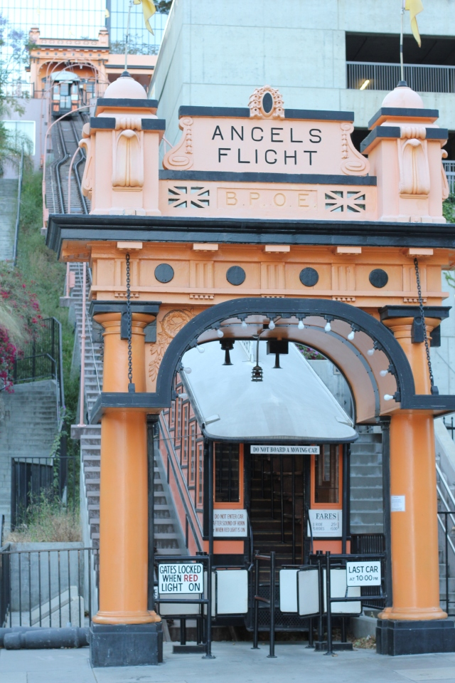 angels flight funicular los angeles