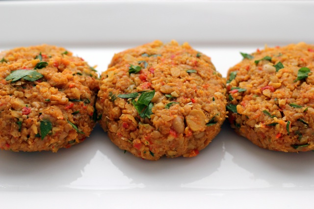 curried chickpea burgers