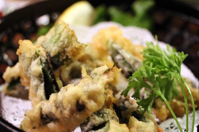 honda ya ume-shiso tempura