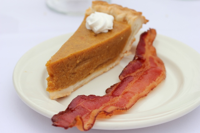 pumpkin pie bacon