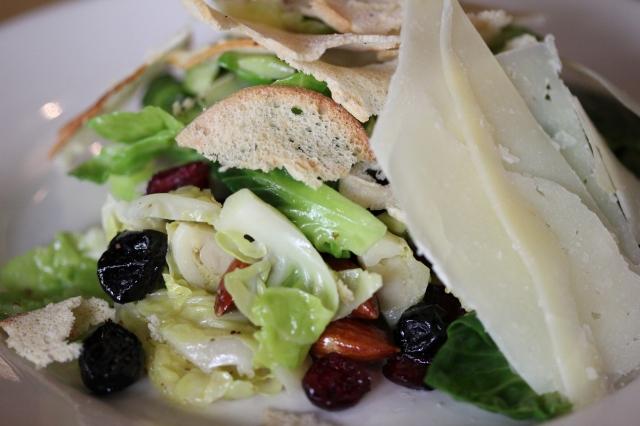 m street kitchen brussel sprout salad
