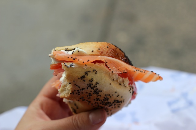 russ & daughters bagel lox