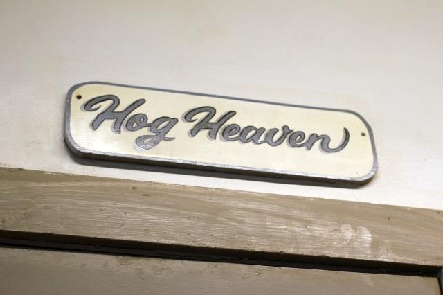 clyde cooper's hog heaven sign