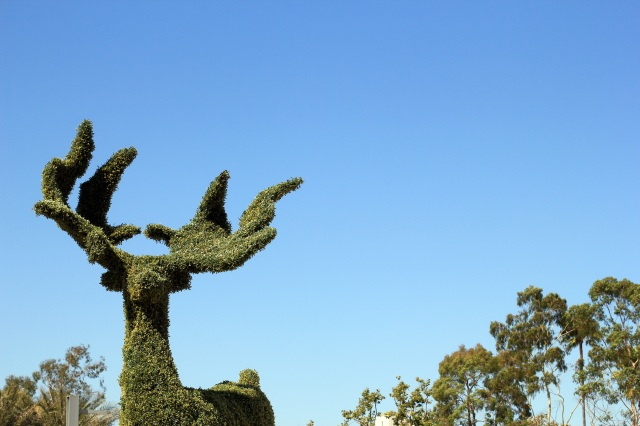 lacma hedge sculptures