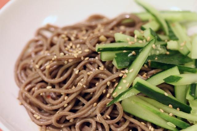 cucumber soba noodles
