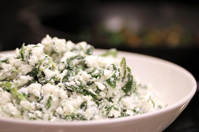 ricotta & spinach