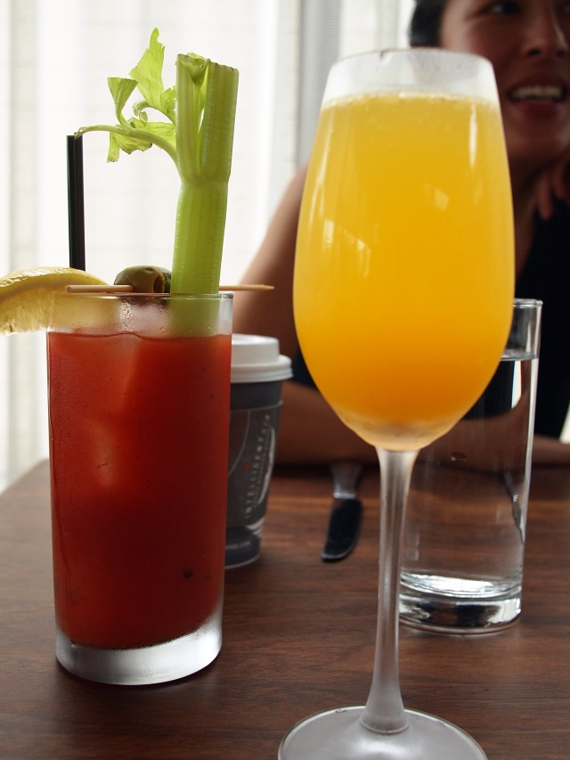 tasting kitchen mimosa bloody mary