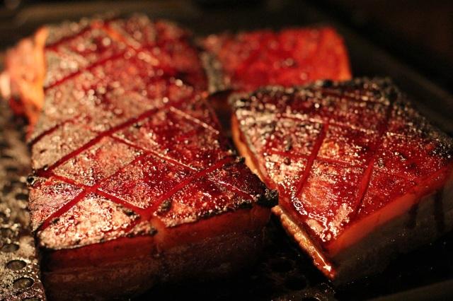 crackling pork belly