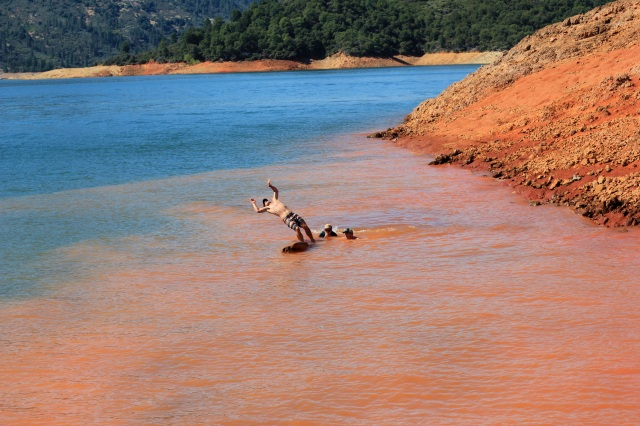 logrolling randy shasta lake