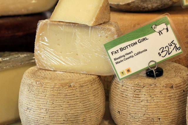 san francisco ferry building cowgirl creamery fat bottom girl cheese