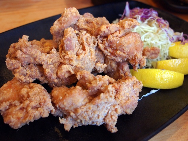kara-age chicken ramen yamadaya culver city