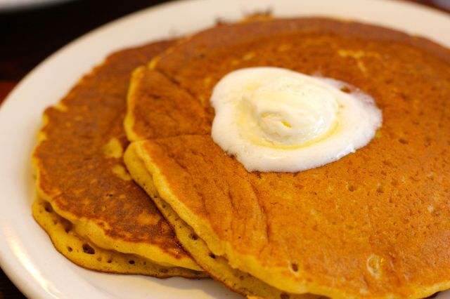 pumpkin pancakes uncle bill's manhattan beach