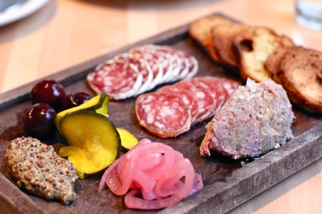 olympic provisions chef's choice charcuterie plate
