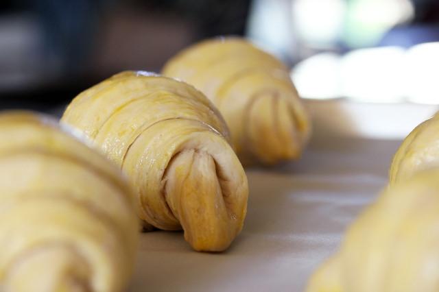 croissant dough egg wash
