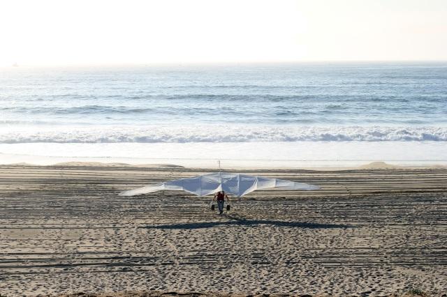 hang gliding dockweiler beach