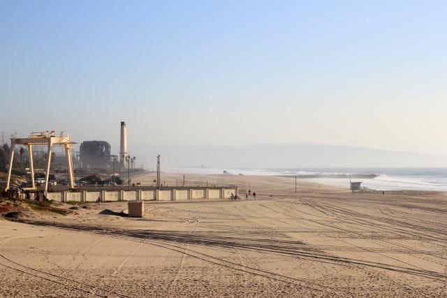 dockweiler beach treatment plant
