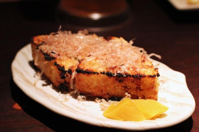 musha izakaya salmon yaki onigiri