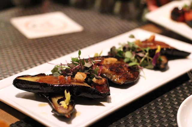picca los angeles grilled eggplant