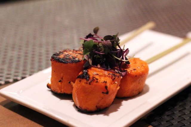 picca los angeles anticucho camote sweet potato