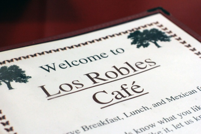 los robles cafe menú paso robles