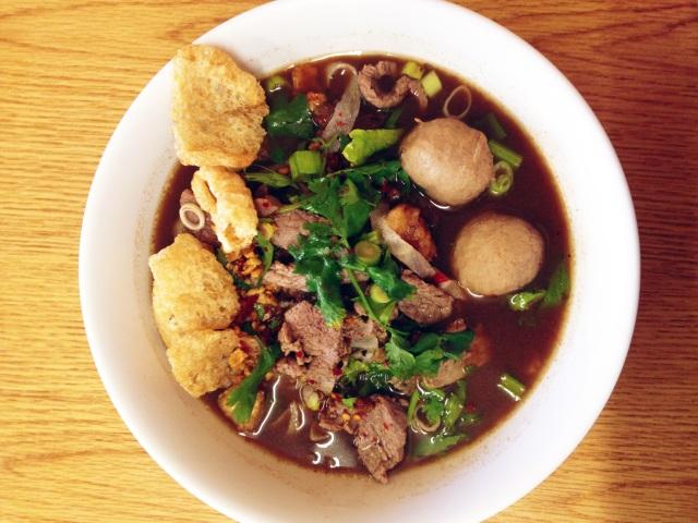 thai boat noodles sapp coffee shop los angeles