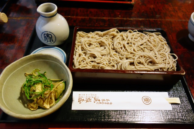 honke owariya kyoto japan soba noodles