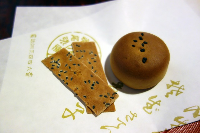 honke owariya kyoto japan buckwheat cookies