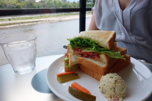 bacon tomato lettuce blt sandwich efish kyoto